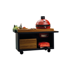 OFYR Kamado table black 135 PRO teak wood KJ